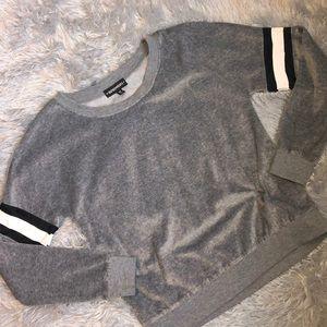 Women's Inspired Hearts Gray Sweater